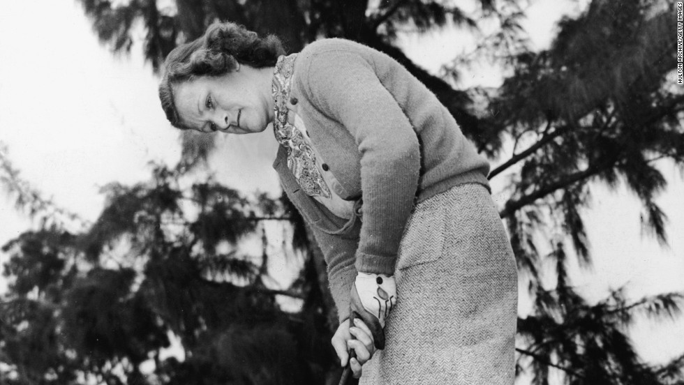 "American Mildred Ella ""Babe"" Didrikson Zaharias was a pioneer in the women's golf game. She tried to enter the men's U.S. Open but was turned down because she was a woman. She did, however, make the cut in several PGA events."