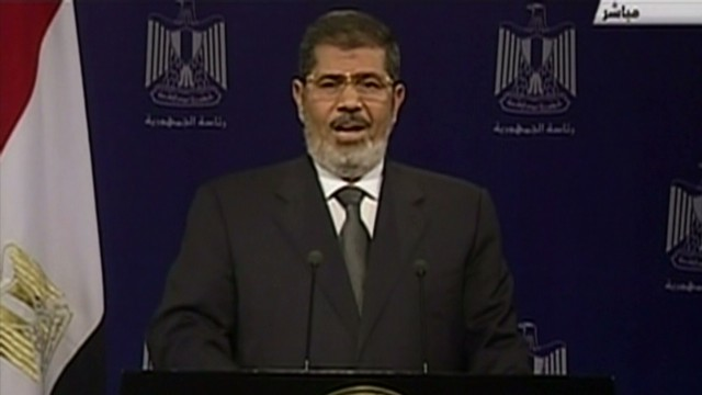 Mohamed Morsy under investigation