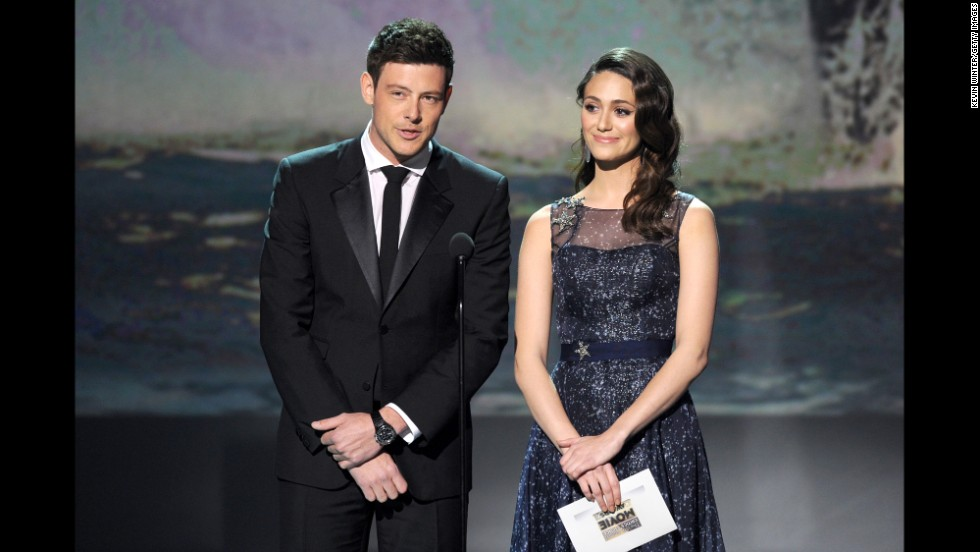 Monteith and Emmy Rossum attend the Critics' Choice Movie Awards on January 10 in Santa Monica, California.