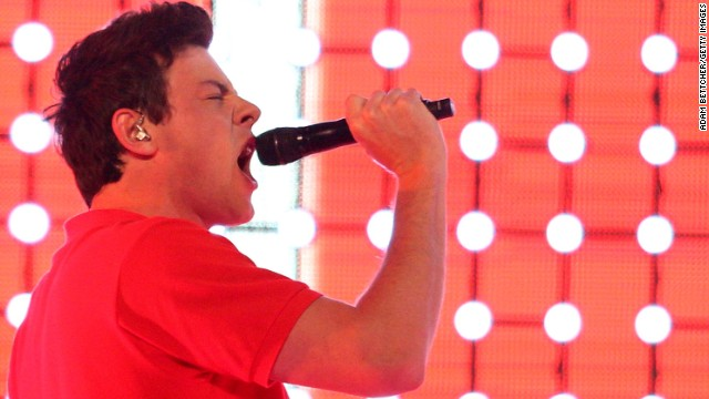 MINNEAPOLIS, MN - JUNE1: Cory Monteith of Glee Live! In Concert performs at Target Center on June 1, 2011 in Minneapolis, Minnesota.  (Photo by Adam Bettcher/Getty Images)