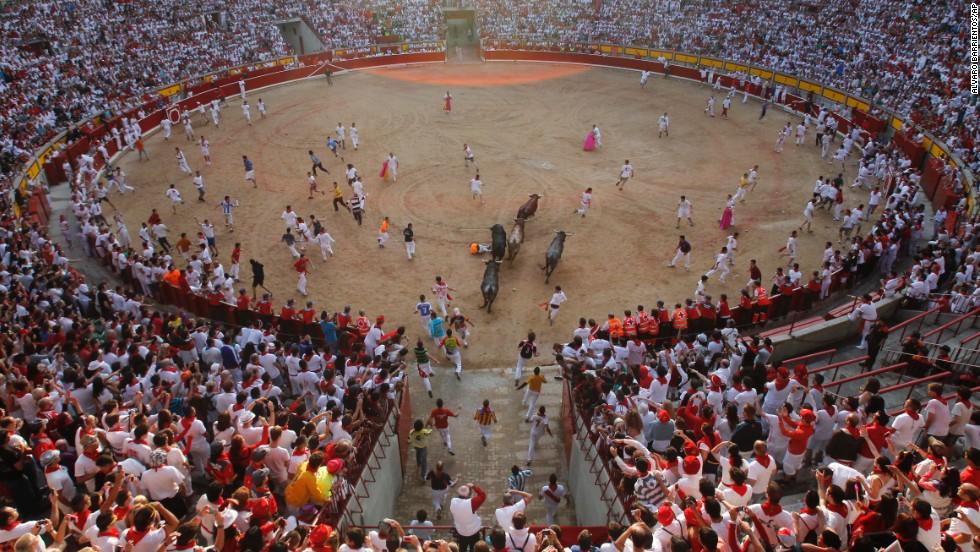 Human bloodshed colors Pamplona finale - CNN.com | CNN Travel