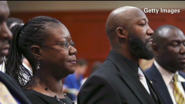 Martin's relatives respond to verdict