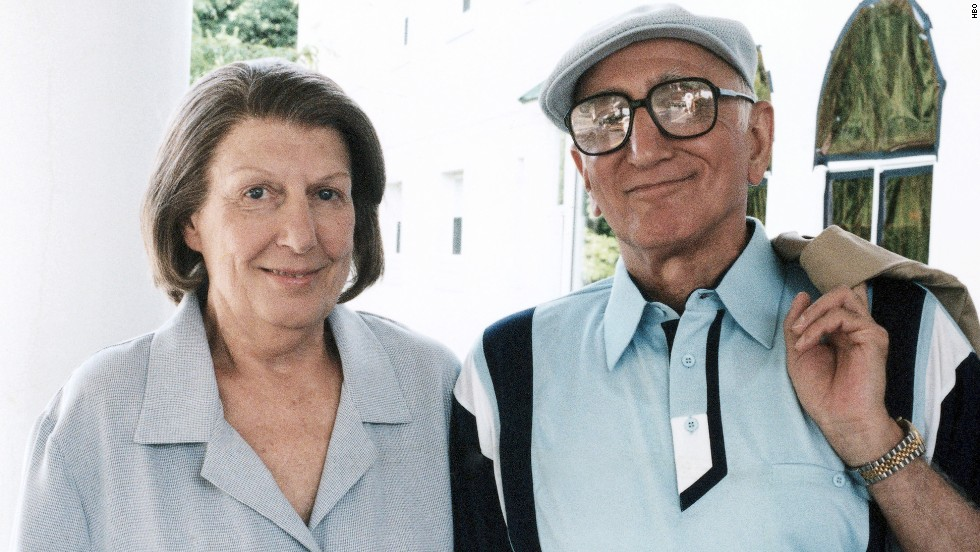 "Nancy Marchand won over critics and fans alike as Tony's cantankerous mother Livia Soprano. When the actress, shown here with ""Sopranos"" co-star Dominic Chianese, died from emphysema and lung cancer in 2000, her character's death also was written into the script."