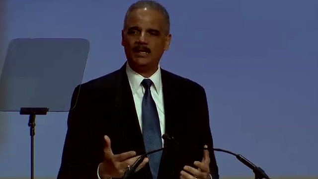 Holder: Justice must be done