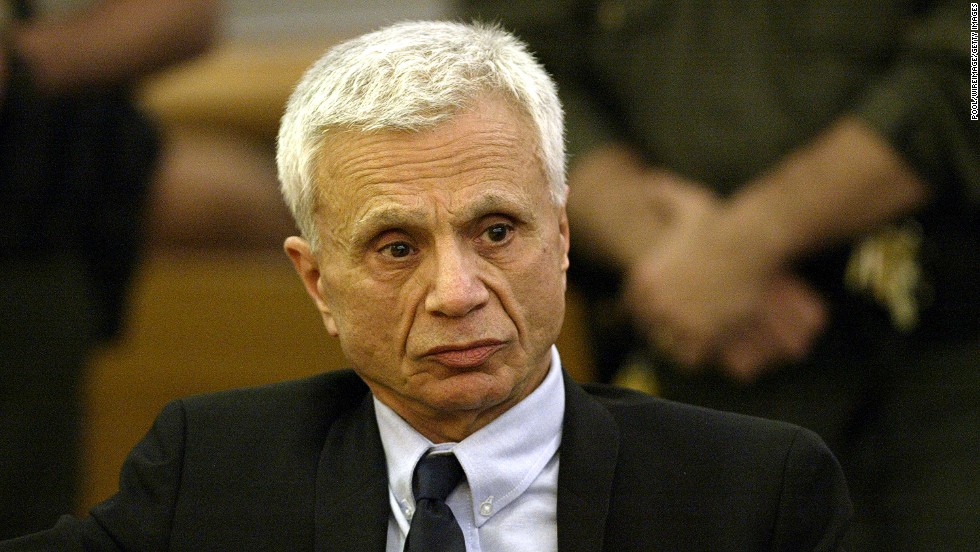 "Former TV star <a href=""http://www.cnn.com/2005/LAW/03/17/ctv.blake/index.html"">Robert Blake</a> reacts in a Los Angeles courtroom in 2005 after hearing the announcement of his acquittal. Blake faced murder charges in the death of his wife, Bonny Lee Bakley."