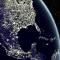 global light pollution tvilight
