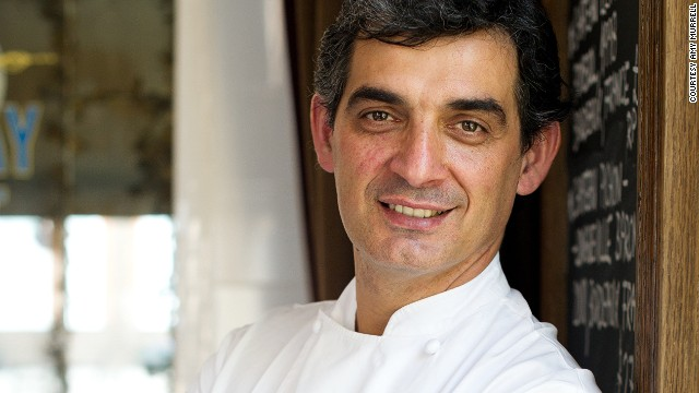 Bruno Loubet, former head chef of Raymond Blanc's two-starred Four Seasons.