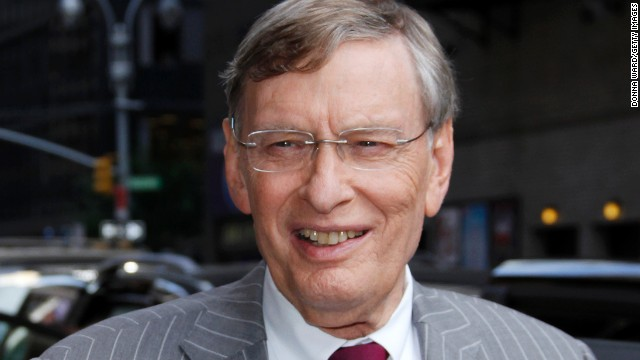 MLB Commissioner Bud Selig pictured in New York City.
