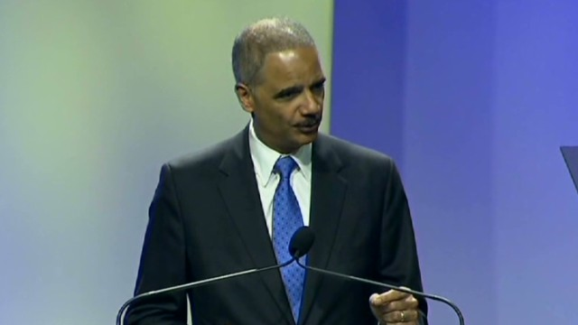 "Holder targets ""Stand Your Ground"" laws"