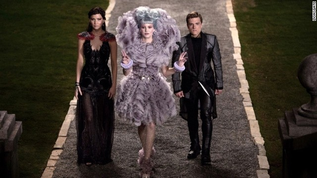 """The Hunger Games"" sequel ""Catching Fire"" is one of many films being presented at San Diego Comic-Con."