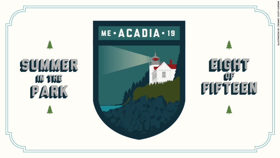 """See why Acadia's beauty made it the first national park east of the Mississippi River. Stop by next week for <a href=""""http://www.nps.gov/thro/index.htm"""" target=""""_blank"""">Theodore Roosevelt National Park</a>."""