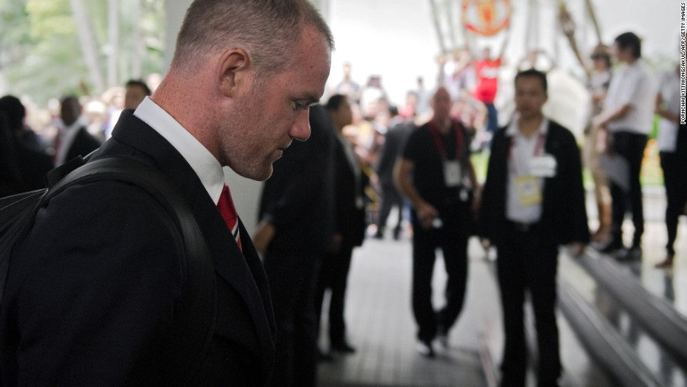 Wayne Rooney didn't last long on United's tour, quickly returning to England with a hamstring injury. His future as a Manchester United player continues to be in doubt with Chelsea interested in buying the England forward.