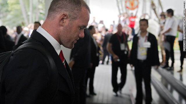 Wayne Rooney's future as a Manchester United player continues to be in doubt.