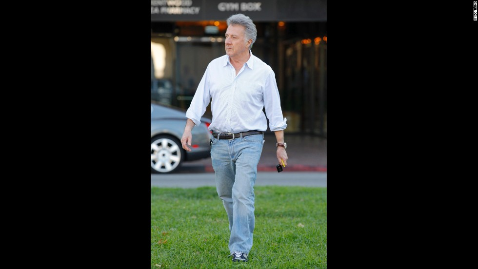 "Dustin Hoffman was taking a walk through London's Hyde Park in April 2012 when he came to the rescue of a jogger who was having heart trouble. <a href=""http://marquee.blogs.cnn.com/2012/05/08/dustin-hoffman-saves-joggers-life/?iref=allsearch"">Hoffman worked quickly when he saw the 27-year-old man</a> ""staggering and frothing at the mouth"" before collapsing, according to the London Evening Standard. The actor called for help and made sure the man was on his back, staying with him until medical services arrived."