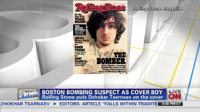 Boston Bombing suspect as cover boy