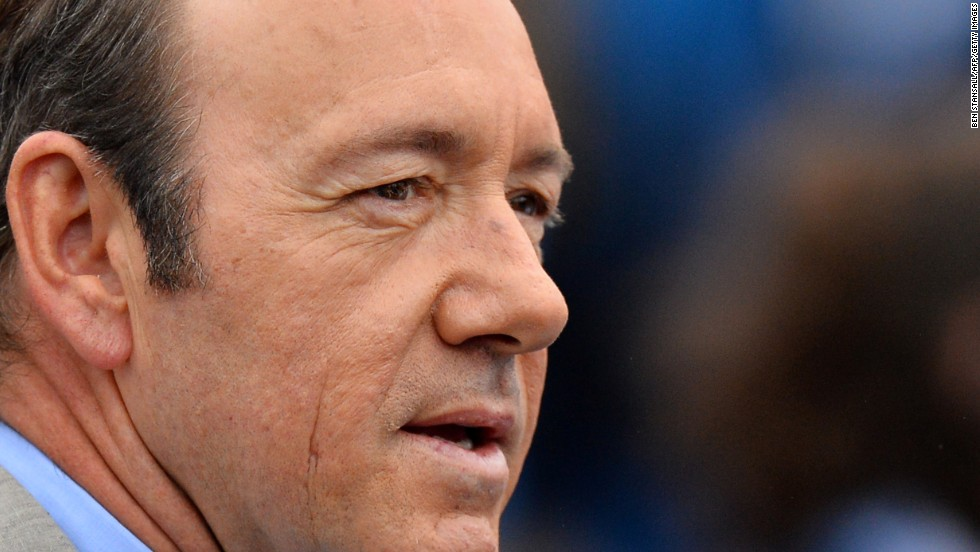 "Outstanding lead actor in a drama series: Kevin Spacey, ""House of Cards"""