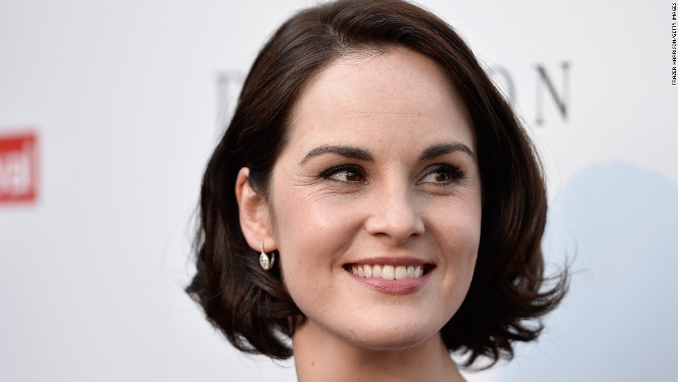 "Outstanding lead actress in a drama series: Michelle Dockery, ""Downton Abbey"""