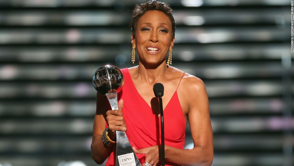 "In 2007, ""Good Morning America"" host Robin Roberts was diagnosed with early-stage breast cancer. She shared her journey, taking viewers along when she shaved her head as her hair began to fall out. Those personal moments and her continued advocacy have raised awareness about the difficulties associated with a diagnosis of breast cancer and treatments."