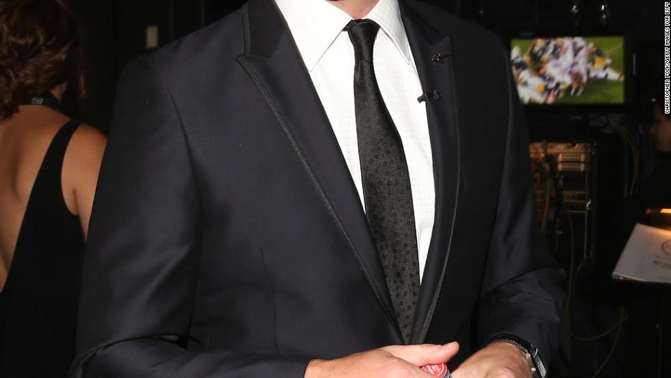 Jon Hamm feeling celebratory at the 2013 ESPY awards on July 17.