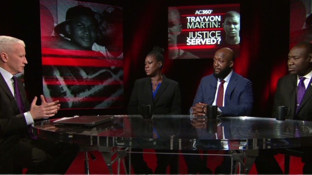 Trayvon Martin's parents talk verdict