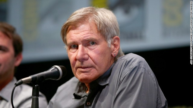 "Actor Harrison Ford said he wasn't concerned about ""Ender's Game"" author Orson Scott Card's views on gay marriage."