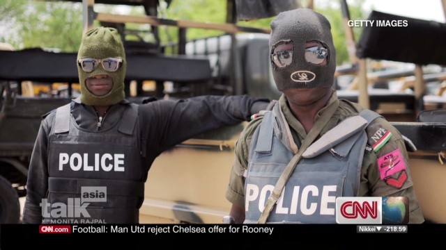 Tackling terrorism in Nigeria