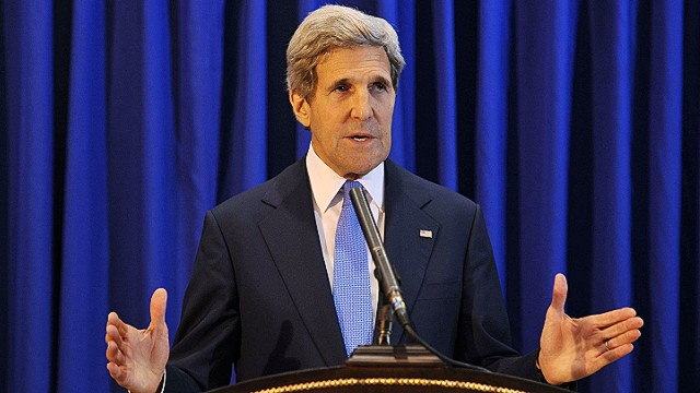 Kerry helps jump-start peace talks