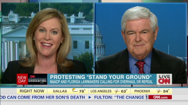 Gingrich and Cutter on Zimmerman verdict