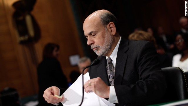 Federal Reserve Chairman Ben Bernanke is likely to step down when his term ends in January 2014.