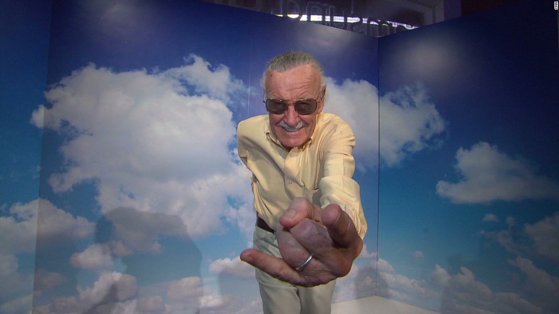 "Stan Lee made headlines for <a href=""http://www.cnn.com/2015/02/23/entertainment/feat-stan-lee-spider-man-autism/"">drawing a Spider-Man sketch</a> for an 8-year-old Spidey fan with autism."