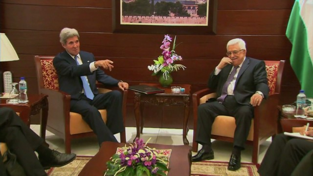 Kerry announces breakthrough in Mideast