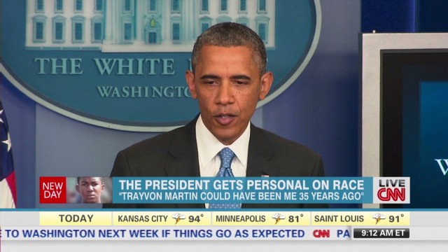 President Obama gets personal on race