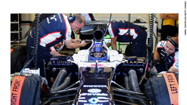 Susie Wolff moved another step closer to her dream of driving in Formula One after a successful  day's testing for Williams
