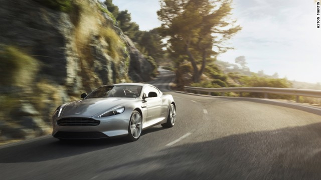 The Aston Martin DB9 is the DB11's predecessor