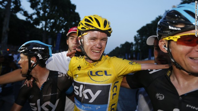 Chris Froome won the 100th edition of the Tour de France in dominant fashion after learning his trade in Kenya