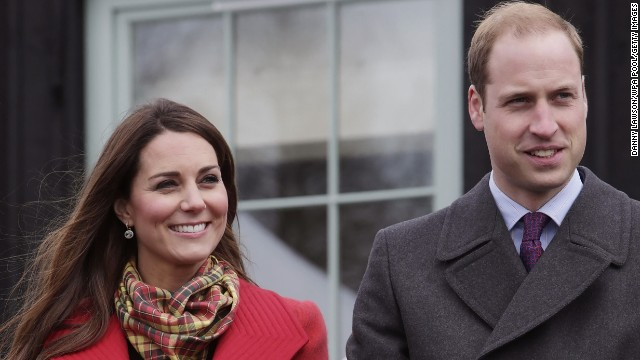 AYRSHIRE, UNITED KINGDOM - MARCH 05: Catherine, Countess of Strathearn and Prince William, Earl of Strathearn during a visit to Dumfries House on March 05, 2013 in Ayrshire, Scotland. The Duke and Duchess of Cambridge braved the bitter cold to attend the opening of an outdoor centre in Scotland today. The couple joined the Prince of Wales at Dumfries House in Ayrshire where Charles has led a regeneration project since 2007. Hundreds of locals and 600 members of youth groups including the Girl Guides and Scouts turned out for the official opening of the Tamar Manoukin Outdoor Centre. (Photo by Danny Lawson - WPA Pool/Getty Images)