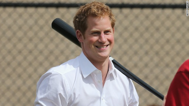 Prince Harry during the fifth day of his visit to the United States on May 14, 2013 in New York City.
