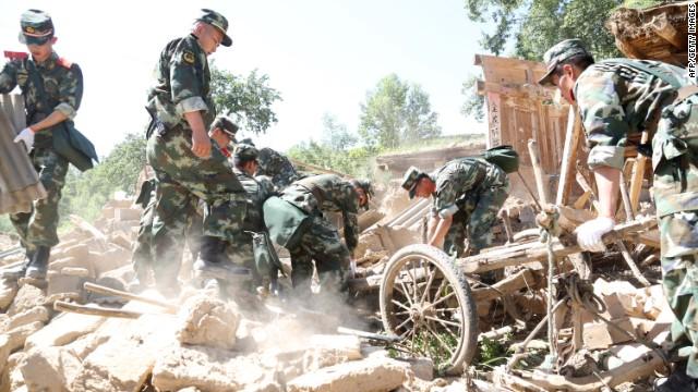 Deadly quake strikes northwest China