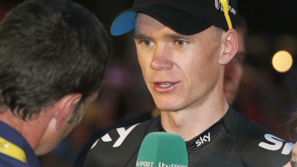 Chris Froome's Tour de France win