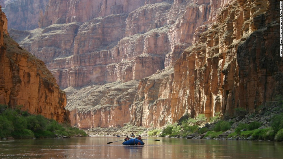 There are commercial and noncommercial Colorado River rafting trips lasting between a half day and 25 days.