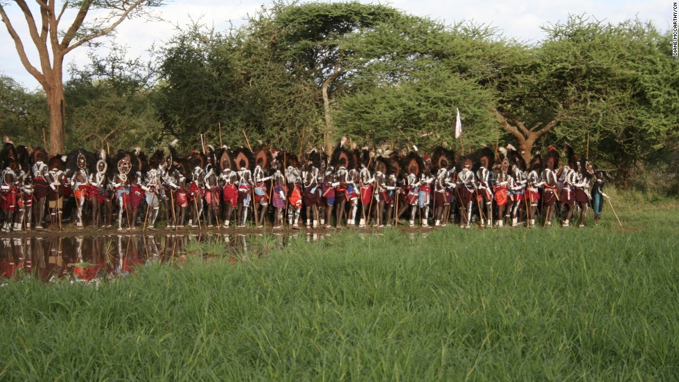 One of the most culturally distinct tribes of Africa, the Maasai move around in bands, grazing their cattle in the rich grassland plains of East Africa they've been calling home for centuries.