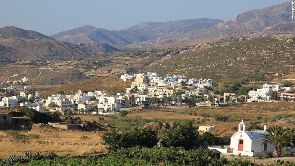 Traditional villages on Naxos are hard to get to, and therefore a tourism-free glimpse into local life.