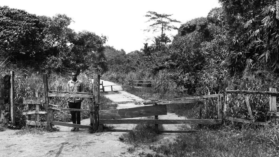 """Exiled"" - Cameroon-Nigeria border, 2012."