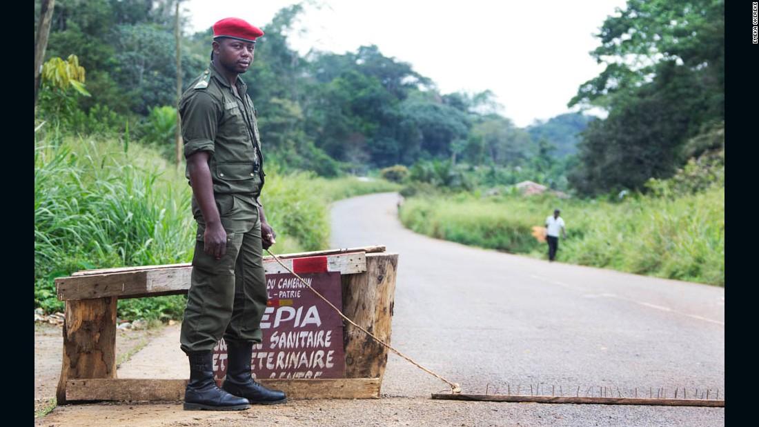 """Gendermerie"" - Minkok, Cameroon, 2012."