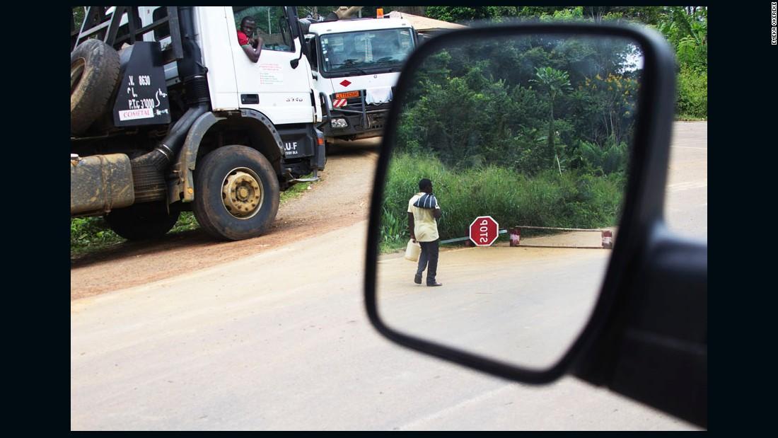 "S""Stop Sign"" - Minkok, Cameroon, 2012."