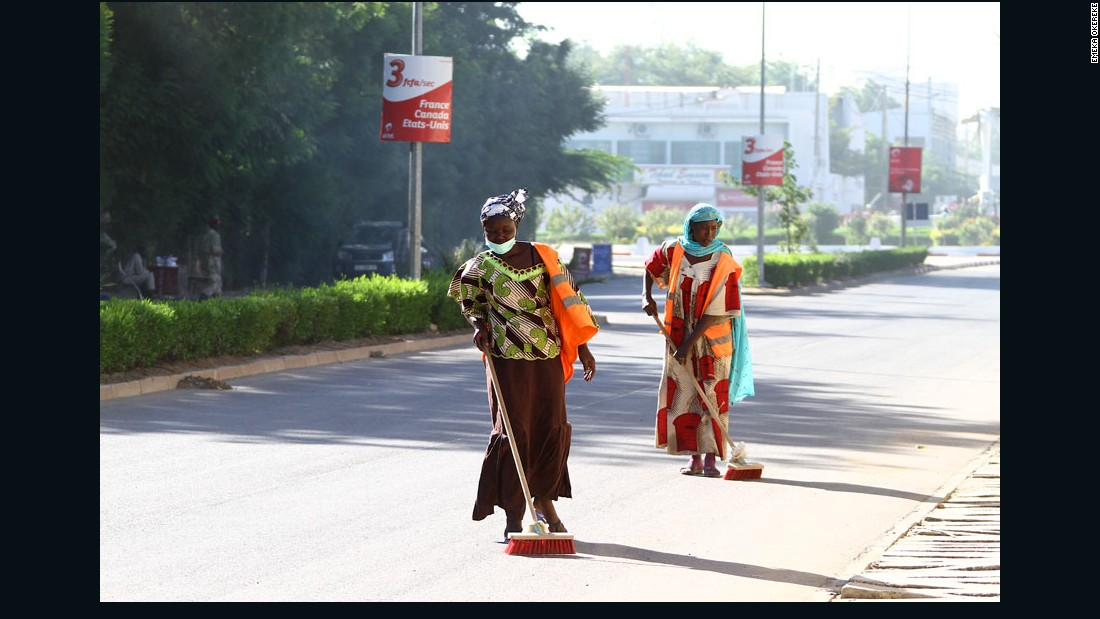 """Street Cleaners"" - N'Djamena, Chad, 2011."