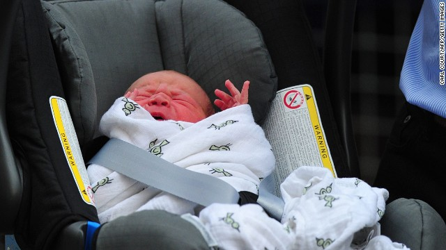 World gets first glimpse of the prince