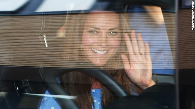 Kate follows in Diana's footsteps