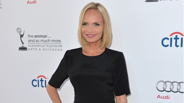 Actress Kristin Chenoweth arrives to The Academy Of Television Arts & Sciences' 'An Evening with Carol Burnett' at the Leonard H. Goldenson Theatre on July 22, 2013 in North Hollywood, California.
