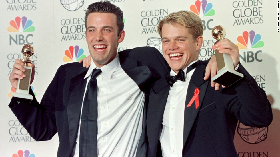 "Though Ben Affleck was born in California, his family moved to Cambridge, Massachusetts, when he was young -- and it was there he met Matt Damon, who lived a few blocks away. The two won Oscars for writing ""Good Will Hunting."" Affleck is now an Oscar-winning director as well, for ""Argo,"" and Damon is one of Hollywood's biggest stars."